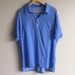 Johnnie-O lightweight short sleeve 1/4 button up